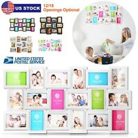 12/18 Pictures Frame Collage Home Wall Aperture Decor Memories Kit Family Photos