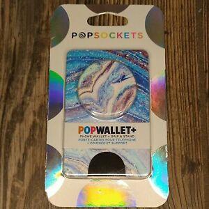 PopSockets POPWALLET+ Phone Wallet + Grip & Stand Credit Card Pocket