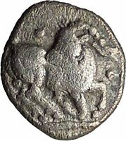 THRACO-MACEDONIAN TRIBES, Mygdones or Krestones. 485BC SIlver Greek Coin i33903
