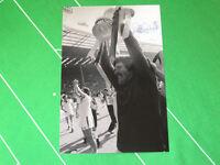 West Ham United Phil Parkes Signed 1980 FA Cup Final Trophy Photograph