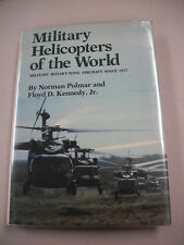 """""""MILITARY HELICOPTERS OF THE WORLD"""" BY POLMER & KENNEDY! 370 PGS! PHOTOS & ILLUS"""