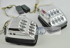 Mercedes G Class W463 G500 G55 WAGON Turning Signal lights LED Chrome/Clear A/W