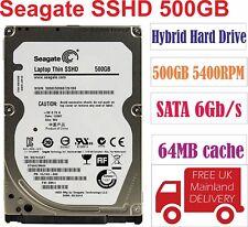 """Seagate SSHD 500GB 5400RPM SATA 6Gb/s 64MB cache  2.5"""" Hybrid Hard Drive ST500L"""