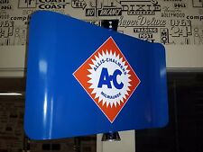 ALLIS CHALMERS AC CLASSIC TRACTOR NOSTALGIC SPINNING ADVERTISING SIGN 2 SIDED