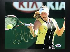 Vera Zvonareva Signed 8x10 Photo Tennis ESPN Nude Model Autograph PSA/DNA