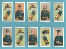 NAVAL - IMPERIAL REPROS  (OF WILLS)  -  SET OF 50 NAVAL DRESS & BADGES