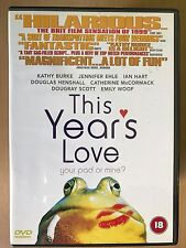 Dougray Scott THIS YEAR'S LOVE ~ 1999 Camden / London / British Romcom | UK DVD