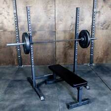 Commercial Squat Rack For Strength Training & Weightlifitng Exercise