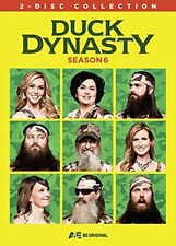 DUCK DYNASTY - SEASON 6  -  DVD - UK Compatible - New & sealed