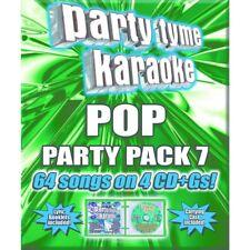Party Tyme Karaoke: Pop Party Pack, Vol. 7 by Karaoke (CD, Oct-2016, 4 Discs)