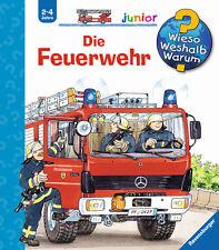 Wieso Weshalb Warum Junior Die Feuerwehr 2 - 4 Jahre Ravensburger + BONUS