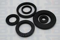 10 PCS Rotary Shaft Oil Seal TC NBR Metal Frame Double Lips with Garter Spring