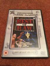 WWE Tagged Classics - Best Of Raw Volumes 1 & 2  WWF RARE Vol