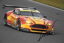 Darren Turner SIGNED Aston Martin Vantage V8 , Silverstone 1000kms  2015