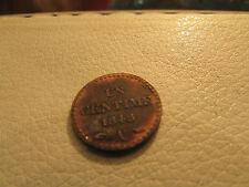 ancienne monnaie piece 1 ct centime 1848 A dupré