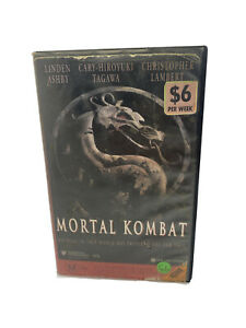 Mortal Kombat VHS Video Ezy Ex Rental VHS