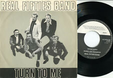 "REAL FIFTIES BAND - Turn To Me 7""EP Dutch 1979 ROCKABILLY 4 tracks RARE Dutch PS"