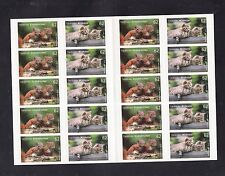 A 31 ) Germany 2015 Baby Animals Squirrels and Cats  MNH /** sheet 20 Stamps skl