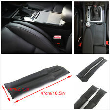 2x Universal Car PU Leather Holster Car Seat Pad Gap Spacer Filler Pad Leakproof