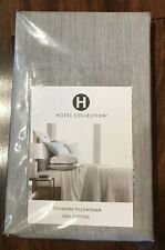 Hotel Collection Yarn Dyed Standard Pillow Sham    Gray