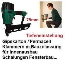 Prebena Druckluftnagler 5C-Z75 für Z Klammern Tacker Klammergerät