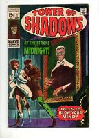 Tower of Shadows #1 STERANKO CLASSIC ART! JOHNNY CRAIG ART! 1969 Fn+ 6.5 Marvel
