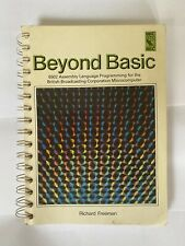 More details for beyond basic 6502 assembly language for the bbc microcomputer - richard freeman