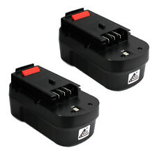 2 x 18V 3.0AH NI-MH Battery for Black & Decker A18 HPB18 HPB18-OPE 244760-00