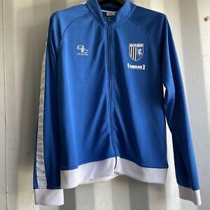 Gillingham Football Training Jacket - Very Good Condition - Size Large UK