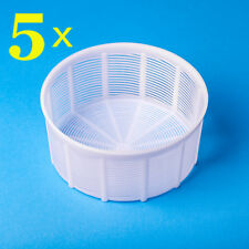 5 Cheesemaking mold  Make Soft & semi-hard cheeses up to 3 kg  Basket for Cheese