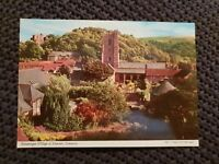 Picturesque Village of Dunster, Somerset - Vintage Postcard
