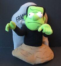 """FRANKENSTEIN 10"""" PLUSH DOLL, Halloween Decoration, Tombstone, Sugar Loaf"""