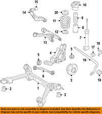 AUDI OEM 2017 A4 Rear Suspension-Upper Control Arm 8W0505324F