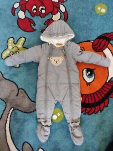 Steiff Baby Overall Winter Junge, Gr. 68