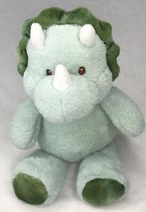 Kellytoy Green Dinosaur Plush Soft Dino Stuffed Animal Rattle Toy Kellybaby Teal