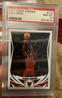 2004 Topps Chrome #172 Luol Deng Psa 10 Rookie Card