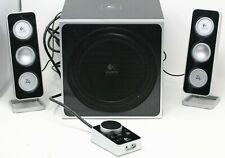 NEW Logitech Z-4 2.1 Speaker System with Subwoofer Black.