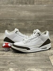 Nike Air Jordan 3 III Retro Mocha 2018 136064-122 10.5 White Brown Black Cement