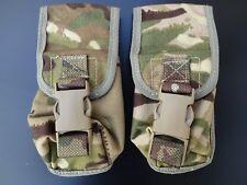 2X British Army Osprey MK4 Smoke Grenade Pouch - MTP - Super Grade 1 - GENUINE
