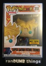 Funko Pop Super Saiyan Future Trunks Dragon Ball Z Hot Topic +PROTECTOR -from NJ