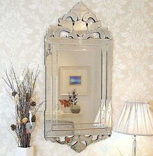 Glass Frame Arched Modern Decorative Mirrors