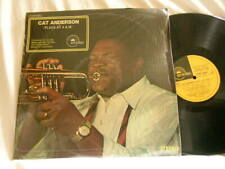 CAT ANDERSON Plays at 4 A.M. Quentin Jackson Russell Procope Sam Woodyard LP