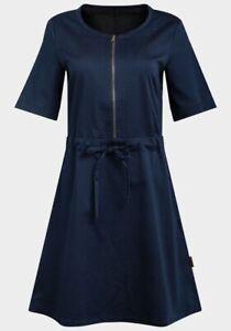 Women's Jeanetic Bomber Dress by Avon, Dark Blue, Size 6 to 24, BNWT, RRP £39.99