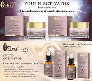Ava Youth Activators-Peptide PROGELINE TM-Hydranov-PeptanCollagen-PhytoCellTec