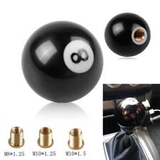 Black 8 Billiard Ball Car Gear Shift Knob Universal Manual Shifter Lever Cover