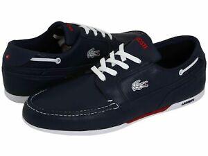 Lacoste Men's Dreyfus Sneakers - Dark Blue/White