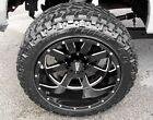 4 NEW Moto Metal 962 20x12 Gloss Black Wheels Dodge Jeep 5x5.5 5x127
