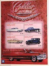 MALAWI 2004 Klb 763-66 Block 87 Cadillac Automobile Vintage Cars Autos Oldtimer