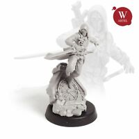 "28mm wargaming and collectible miniature, The Assassin by ""W"" Artel"