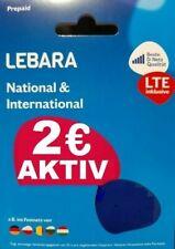 Lebara Mobile Sim Card With 5 ? Balance